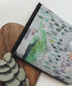 Büchertasche Wald