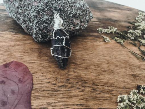 Amethyst Kette Silber klein