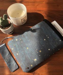 Büchertasche Nachthimmel